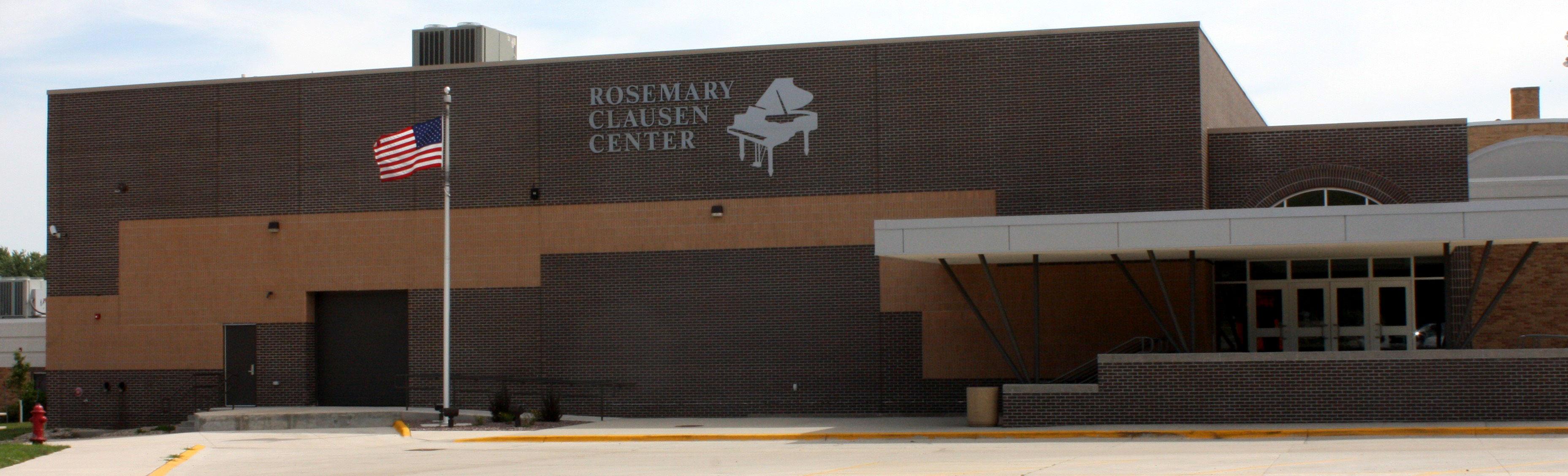 Rosemary Clausen Center entrance